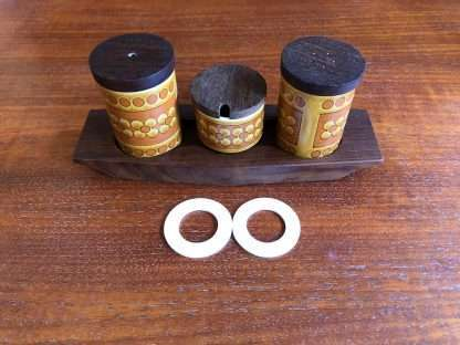 Hornsea condiment and spice jar seals - set of two